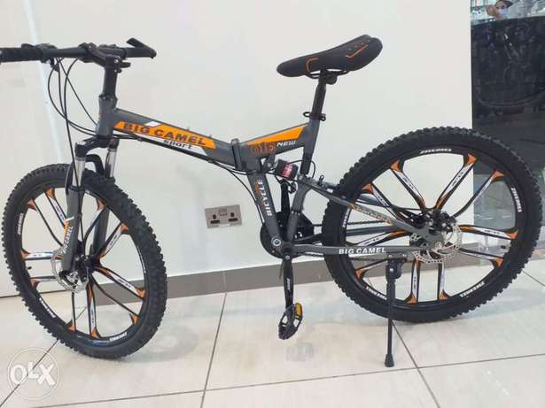 NEW Stock Pieces - 26 Inch Foldable Bikes - Big Camel