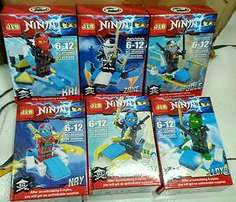 JLB Ninjago Set OF 6