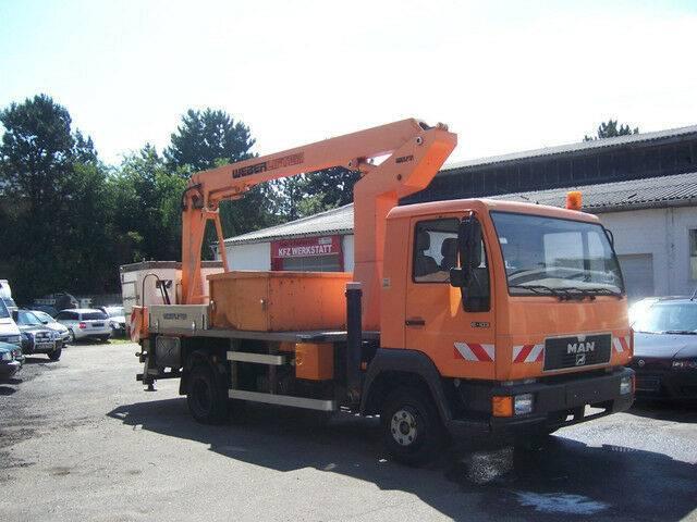 MAN L 2000 8.103/mit Weber Hubsteiger GL1350EG - 1995