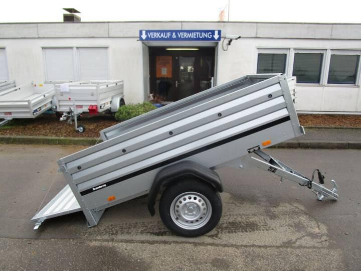 Brenderup 1205 XL KIPPBAR 2,03x1,16x0,55m 750 kg VORRAT - 2019