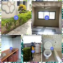 6 rooms ( 2master bedrooms) walled house,