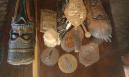 African decor stuff