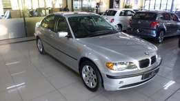 2005 Bmw 3 Series 320d A/T (e46) f/l in Silver