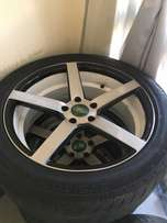 20 inch vossen rims for sell