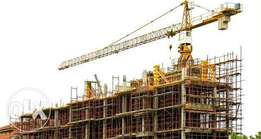 Construction and building to finishing