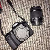 Canon 70D with 18-55mm lens