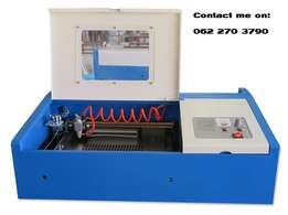 Laser engraver and cutter 300 x 200mm 50W CO2 Tube