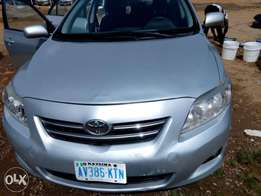 A neatly used 2008 Toyota corolla for urgent sale