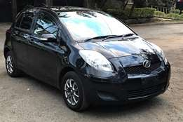 Metallic Black KCM Toyota Vitz 1300cc, Alloy Wheels, USB/ DVD
