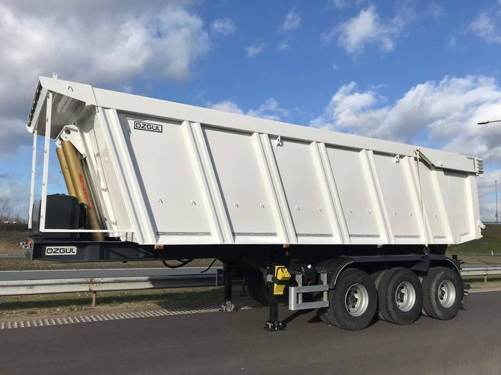 Ozgul 45 CBM Tipper Semi Trailer 3 axle | NEW - 2018