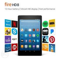 """Fire HD 8 Tablet with Alexa, 8"""" HD Display, 16 GB, Black - with Specia"""