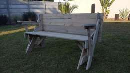 Folding bench and Picnic Table