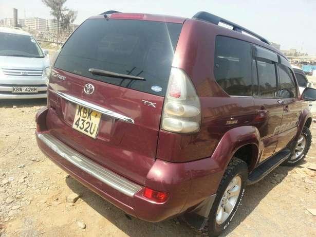 Toyota prado on sale. Quick sale with sun roof Donholm - image 1