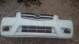 Mazda BT50 front bumper and grill