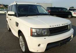 Land-rover range rover sports 2010 petrol V8 finance terms accepted