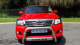 2015 Toyota Hilux 3.0D-4D Dakar Edition for sale
