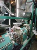 Maize milling machine roller