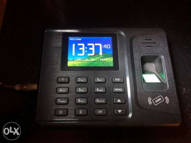 Fingerprint Time Recorder