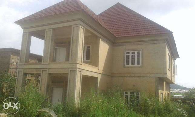 A tastefully nearly completed four bedroom duplex for sale for 55M Lokogoma - image 2