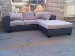 L shaped Daybed couches at factory