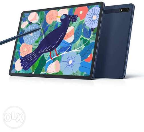 Samsung Galaxy Tab S7 Plus 8/256GB SIM&WIFI - Mystic Navy ازرق متبرشم