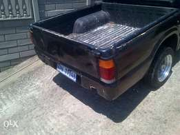 ford courier loadbin
