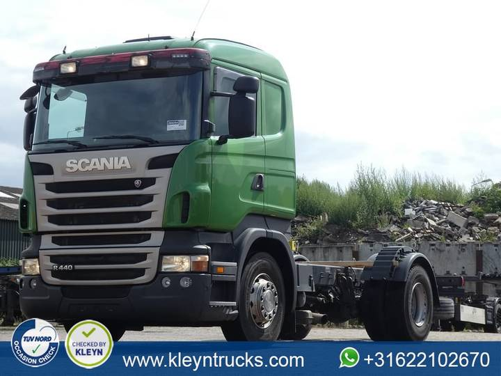 Scania R440 manual gearbox - 2012