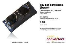 Ray-Ban Sunglasses (Square)