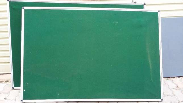 2 large felt/message boards home/office good condition. Price for both Edenvale - image 1