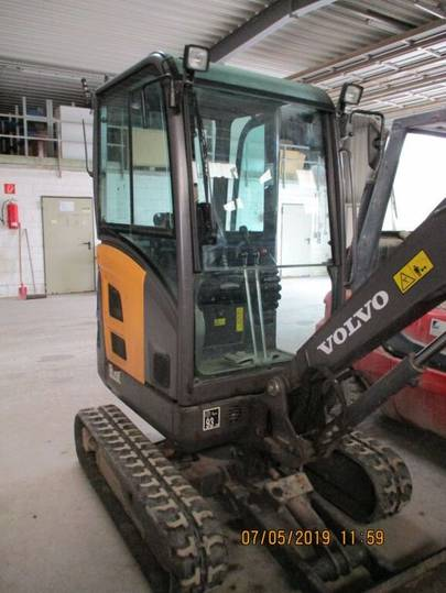 Volvo EC20 C Powertilt - 2013