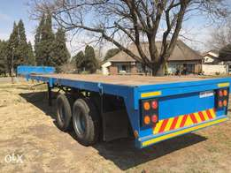 12m Double axel Trailer for sale!