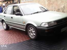 Toyota 1.6 owned by lady . Dolphin shape