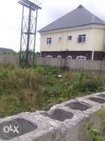 I plot of land with fence for sale