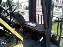 Clean Unused Fork Lift