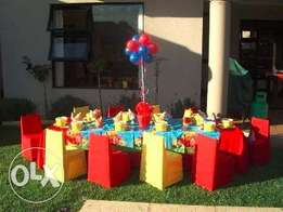 Inflatables and kids setup services