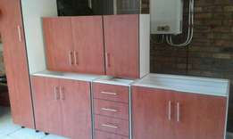 Cherry Royale kitchen cupboards
