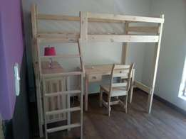 New solid pine loft beds