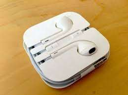 IPhone original earphones