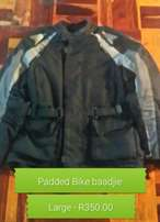 Padded bike baadjie Large