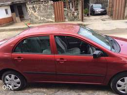 Toyota Corolla, Cylinder; 4plug, Interior: Fabric, Colour Red