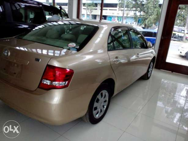 Toyota axio gold color new plate number fresh import Mombasa Island - image 5