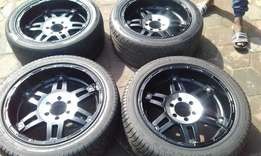 """20"""" inch rims and tyre ."""