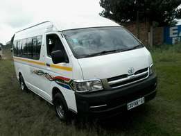 Toyota quantum sesfikile in good condition