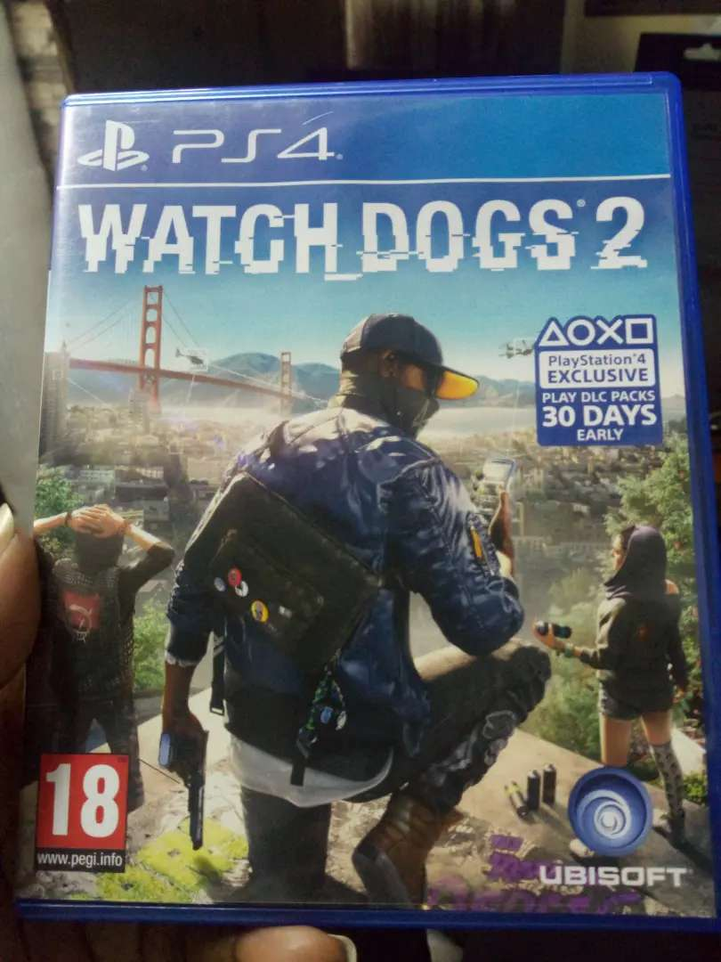 Watchdogs 2 Ps4 Game Nairobi Central Video Games Accessories Sony Watch Dogs Description