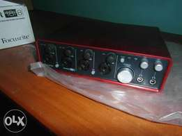 Focusrite 18i8 Audio Interface Soundcard
