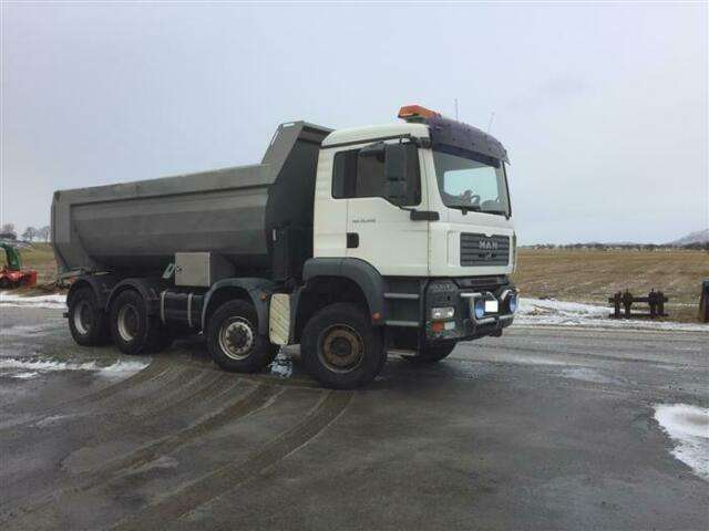 MAN Tga35.440 Soon Expected 8x6 Ual Hub Reduc - 2007