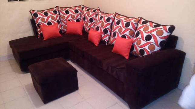 Sofa L seat six seater at a reasonable price Nakuru East - image 1
