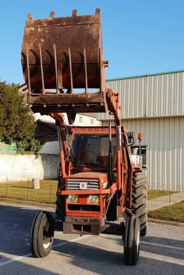 Fiat tracteur agricole 5566 - 1990