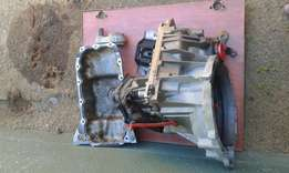 Ford figo gear box and oil sump mounting