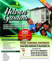 Government approved plots of land in New lekki